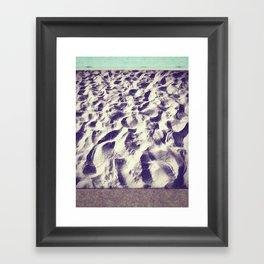 Midnight Sand  Framed Art Print