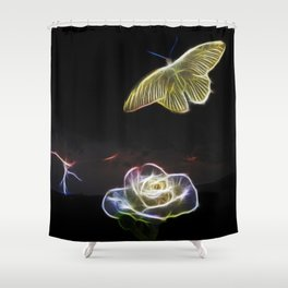 My soul flys free Shower Curtain