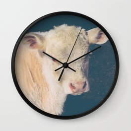 Calf Wall Clock