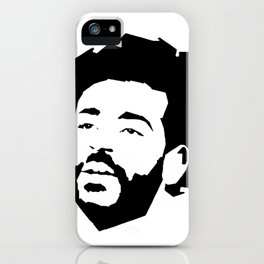 Mo Salah Face iPhone Case