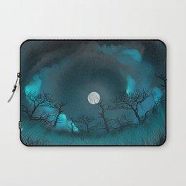 Blue Moon Laptop Sleeve
