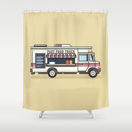 Fast Food Truck Shower Curtain