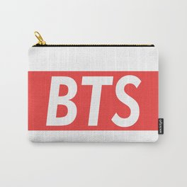 BTS red Carry-All Pouch