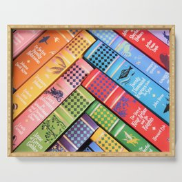 Leather Bound Classics Series - Part 2 Serving Tray