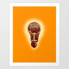 brain stun Art Print
