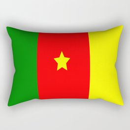 Flag of Cameroon Rectangular Pillow