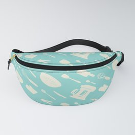 In The Kitchen — Turquoise Fanny Pack