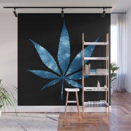Weed : High Times blue Galaxy Wall Mural