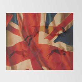 UNION JACK WEIMS Throw Blanket