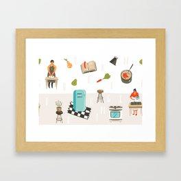 Cooking Mama Framed Art Print