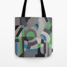 Hacienda Green Tote Bag