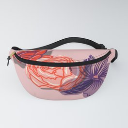 Floral Sweetheart Fanny Pack