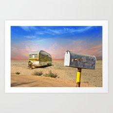 Trailer Heaven Art Print