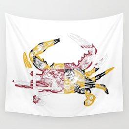Maryland Crab Wall Tapestry