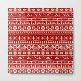 Christmas Jumper Metal Print