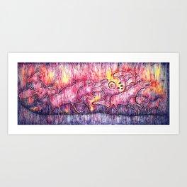Exodus Art Print