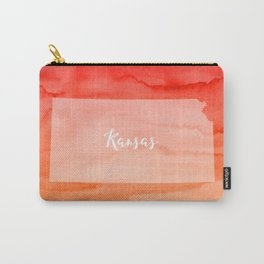 Sweet Home Kansas Carry-All Pouch