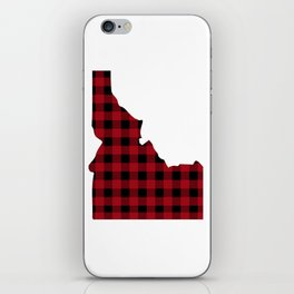 Idaho - Buffalo Plaid iPhone Skin