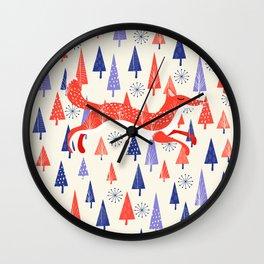 Holiday Mood Wall Clock