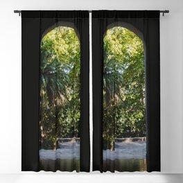 Door to a secret garden   Buenos Aires, Argentina   Travel Photography Blackout Curtain