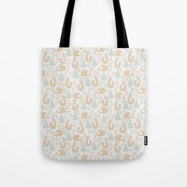 foxes and chickens Tote Bag