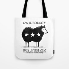 Unaffiliated Party Flyer Tote Bag