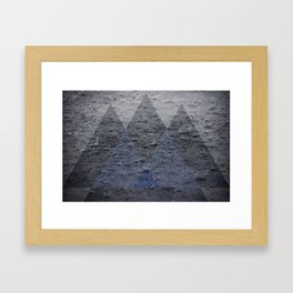 Rainangles Framed Art Print