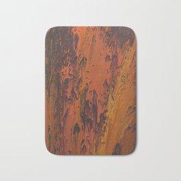 Sweetness 0007- Iridescent Fluid Painting Bath Mat