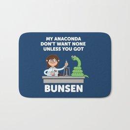 Unless you've got bunsen!  Bath Mat