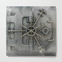 Vault Metal Print