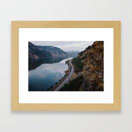 Columbia River Gorge III Framed Art Print