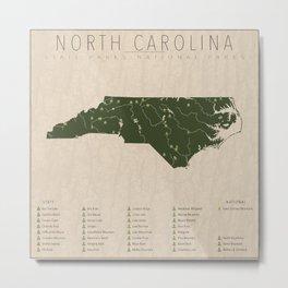 North Carolina Parks Metal Print