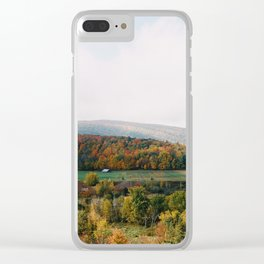 Vermont Valley - 35mm Film Clear iPhone Case