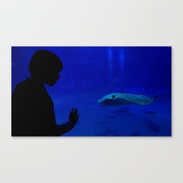 You're Still A Mystery Canvas Print