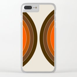Golden Sonar Clear iPhone Case