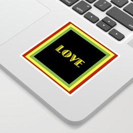 Jah Love Sticker