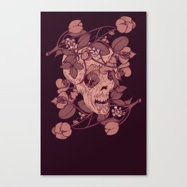 Rotting flowers Canvas Print