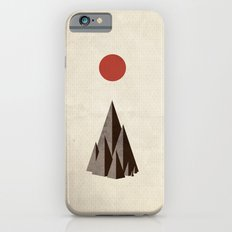Minimal Mountains iPhone 6s Slim Case