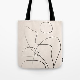 Abstract Line I Tote Bag