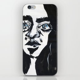 Staring into the void iPhone Skin