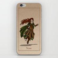valar morghulis iPhone & iPod Skins featuring Nessa by wolfanita