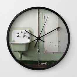 Cafeteria sink Wall Clock