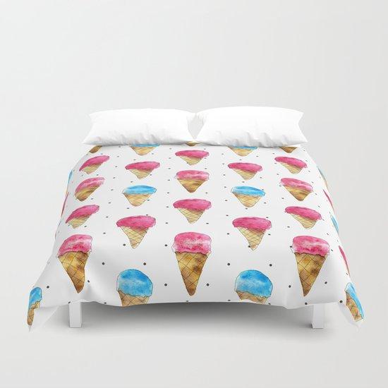 Ice cream cones Duvet Cover