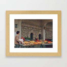 Les Halles, Biarritz Framed Art Print