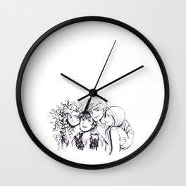Big 4 Wall Clock