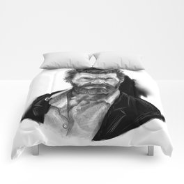 Old man Logan no.01(Hugh jackman) Comforters