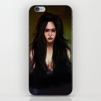 three of the possessed iPhone & iPod Skins featuring possessed by Audrey Lopez
