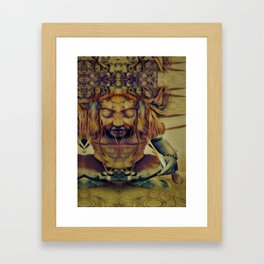 """""""Scrye with Me"""" Framed Art Print"""