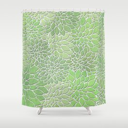 Floral Abstract 30 Shower Curtain