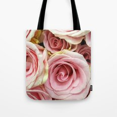 Pink Rose 9 Tote Bag